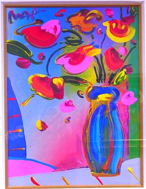 Peter Max  Faciliti-Link Flowers