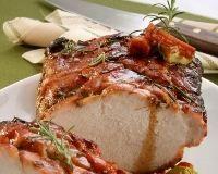 Rôti de porc à la vigneronne