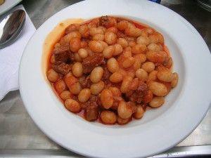 The Turkish national dish: Kuru Fasulye - Lamb and Bean Stew