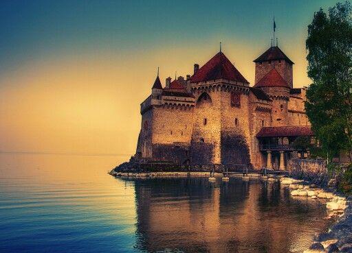 Chillion castle Geneva