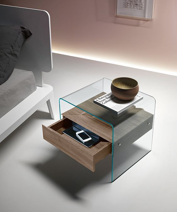 One of the most functional and useful bedroom furniture pieces is a contemporary nightstand.  http://masterbedroomideas.eu/
