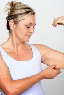 how to lose uner arm fat