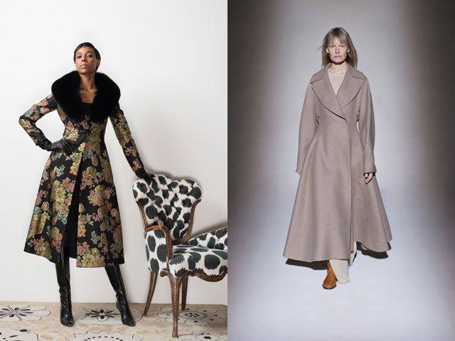 Приталенные пальто