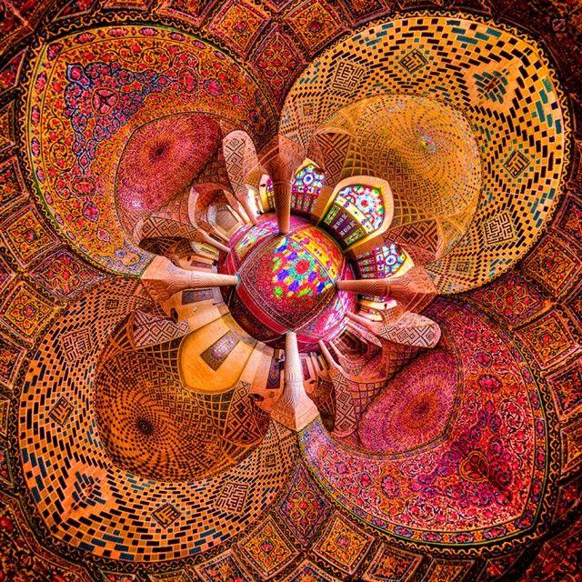 Colorful Iranian Architecture