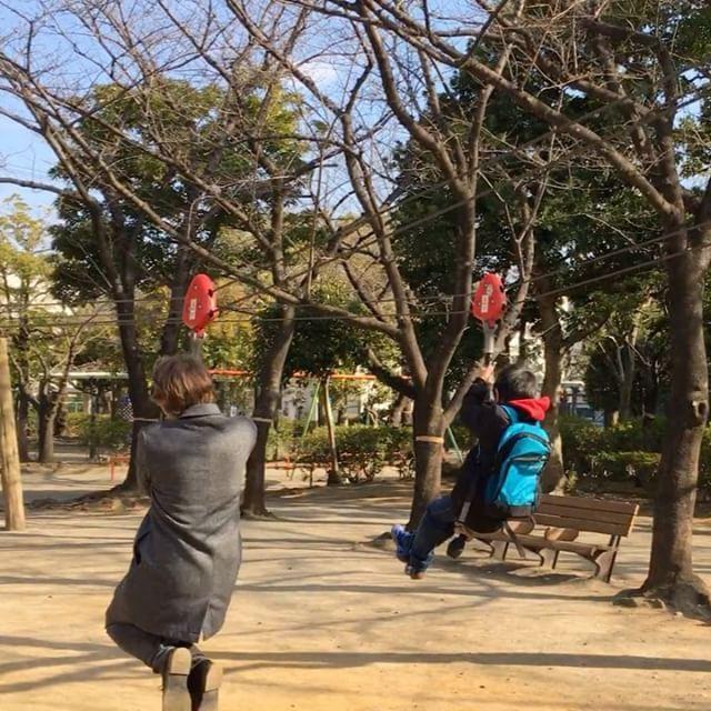 Когда вернулся в детство..  Нашли интересную детскую площадку. Можно почувствовать себя Тарзаном.. ну или пиратом. Арр  #япония #токио #детскаяплощадка #дети #тарзан #пират #детство #путешествие #tokyo #japan #tarzan #pirate #childhood #kids #travel #日本 #東京 #子供 #子供の頃 #旅行者