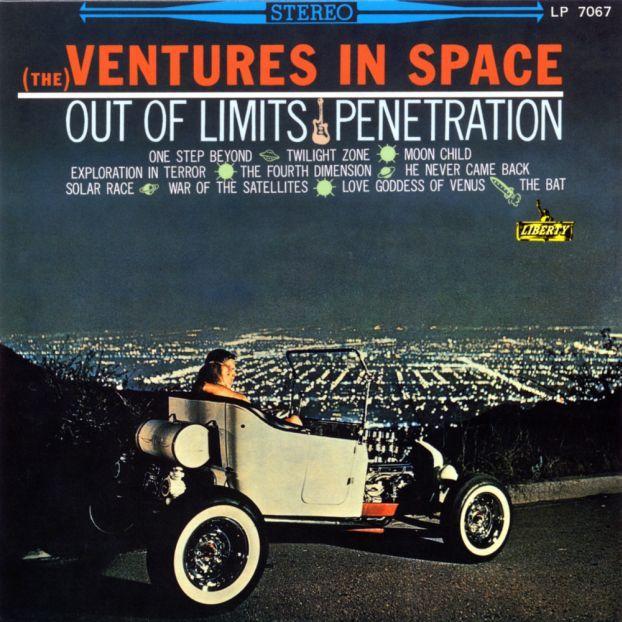 The Ventures Ventures In Space 1964 Albums Portadas