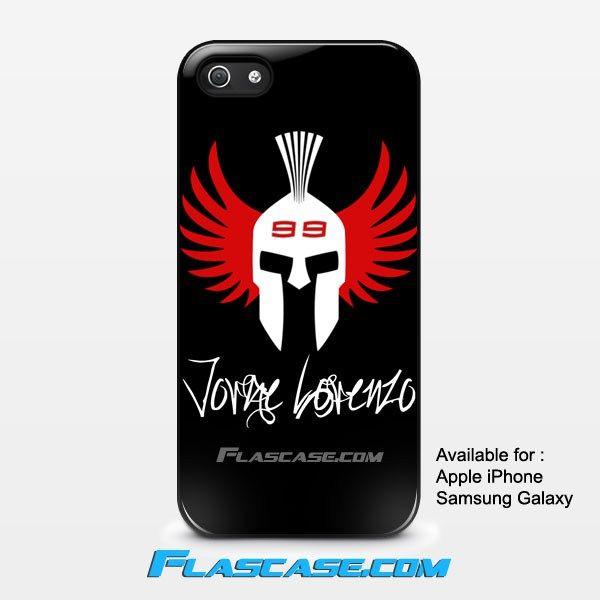 Jorge Lorenzo Spartan Logo Apple iPhone 4/4s 5/5s 5c 6 6 Plus Samsung Galaxy S3 S4 S5 S6 S6 EDGE Hard Case #AppleiPhoneCase #SamsungGalaxyCase