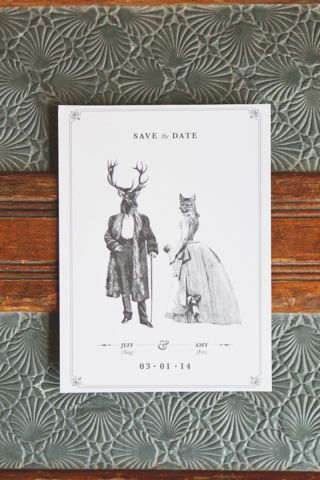 Wedding experts Style Me Pretty has come up with 20 unique and memorable ways to send out your save the date invitation: