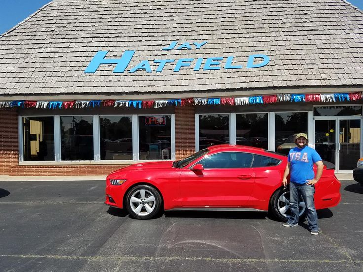Kevin, we hope you enjoy your new 2015 ford mustang.  Congratulations and best wishes from Jay Hatfield Ford and Andy Grissom.