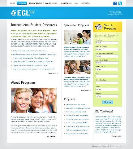 EGL Business Website Templates by Oldman