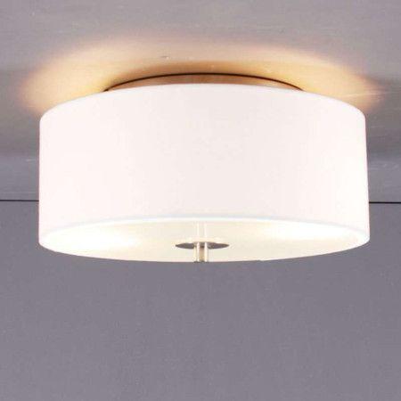 Deckenleuchte Drum 30 Rund Cremeweiss Deckenlampe Lampe Innenbeleuchtung
