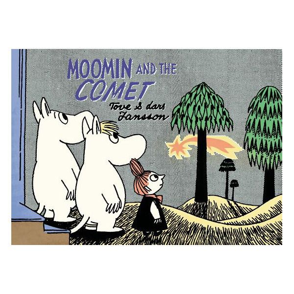 "Moomin and the Comet  How will the beloved residents of Moominvalley survive a comet? ""Another classic Moomin story reworked in full color, with a kid-proof but kid-friendly size, price, and format. ""It's getting hotter and hotter in Moominvalley, and all the creatures have taken note of the troubling weather. After a mysterious cloud appears in the sky one day, an exodus begins. The Hattifatteners, the Nibling, Mrs. Fillyjonk (and all her children), and even Mymble pack up to leave the…"