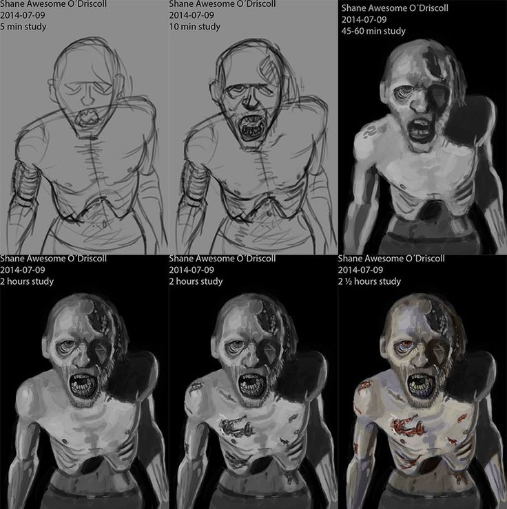 Night of the Drawing Undead How to Draw Zombies Activity Book