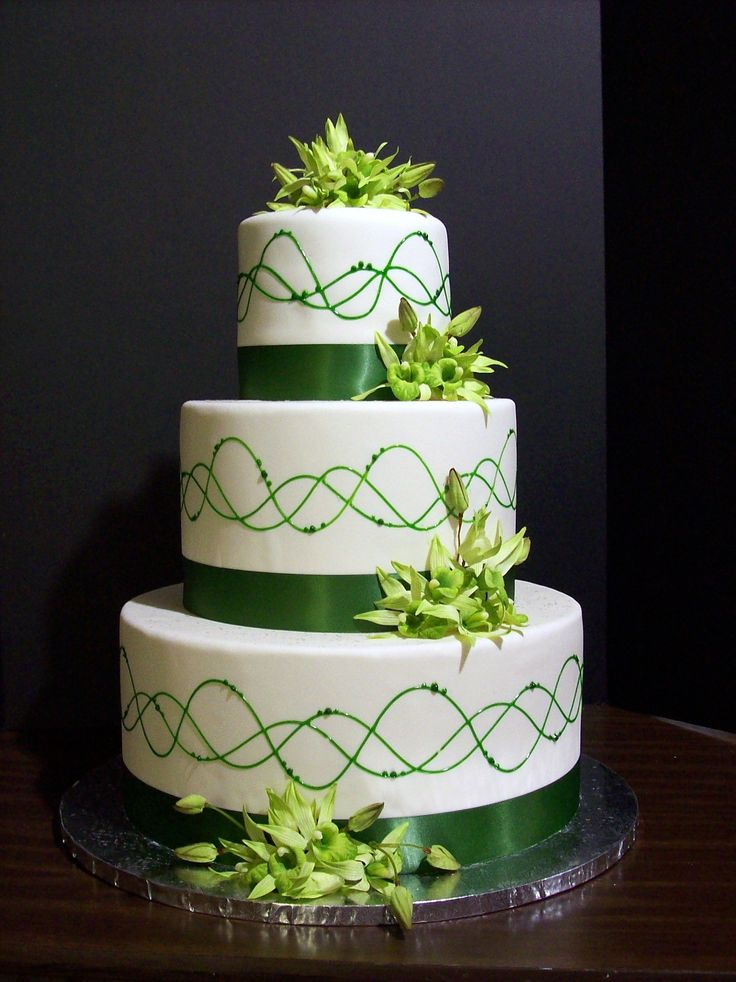 green wedding cake design 63 best wedding cake ideas images on 14970