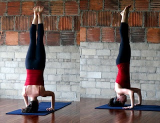 energizing tripod headstand with images  yoga poses