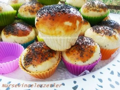 Zeytinli Tuzlu Muffin Tarifi | Yemek Tarifleri