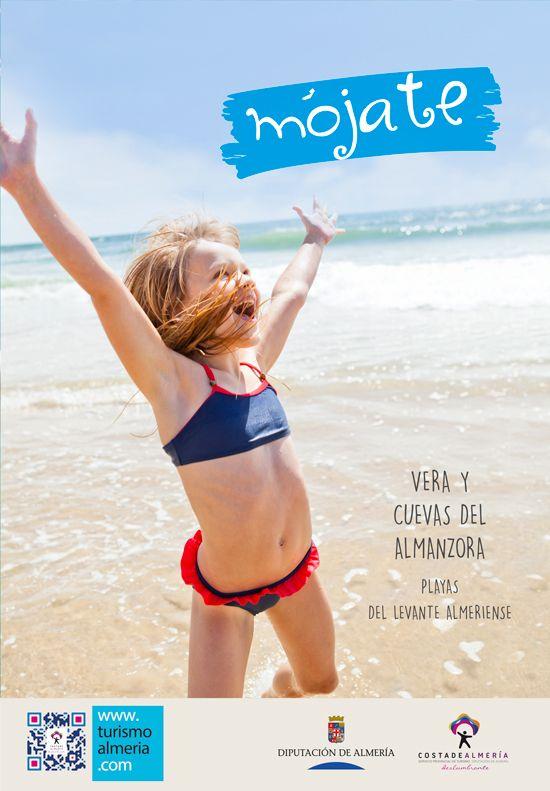 Campaña Promoción Playas de Almería. Publicidad exterior.  Diseño: Eugenia Parra.