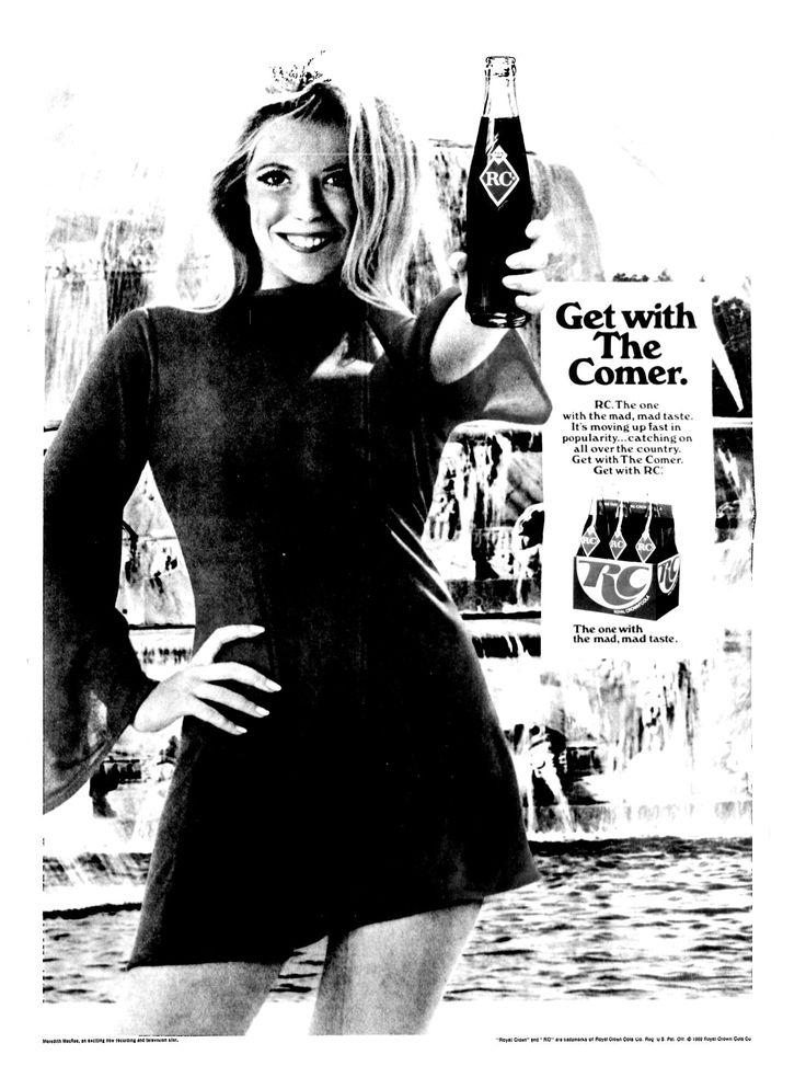 RC Cola - Actress Meredith MacRae - June 1969