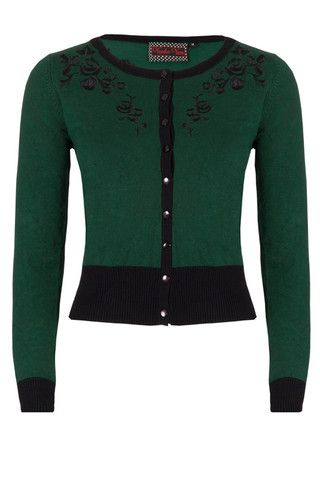 Green Tammy Cardigan by Voodoo Vixen – Anomalie Clothing