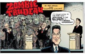 Zombie Trudeau #4: The Big Debate - riotwire