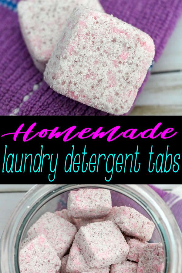 The Best Homemade Laundry Detergent Tab Recipe Easy Cheap
