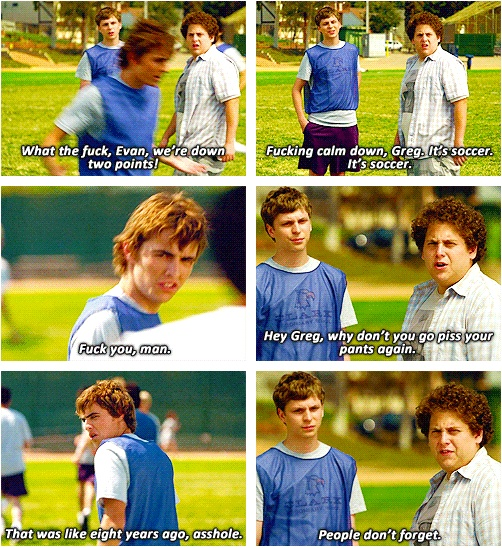 Superbad... yes dave franco!