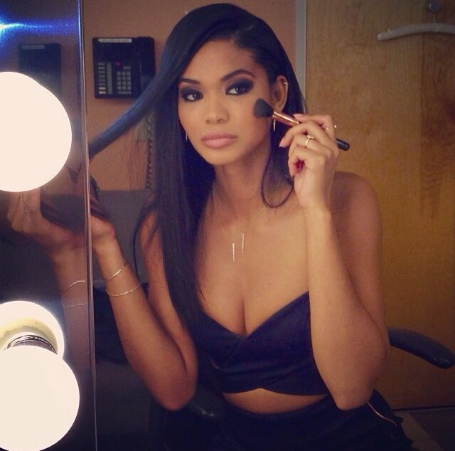 Chanel Iman Hair amp Beauty Pinterest And