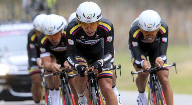 Los ciclistas colombianos están de vuelta. El Team Colombia correrá en el Giro, que sale el próximo  4 de mayo de Nápoles. El equipo espera ...