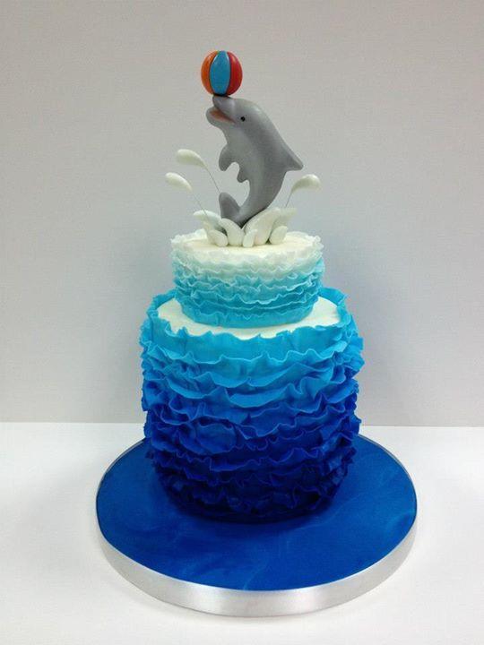 Dolphin Cake O Fun With Marine Life Pinterest