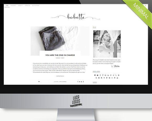 Mejores 218 imágenes de Wordpress Themes en Pinterest | Plantilla de ...