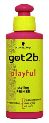 Schwarzkopf got2b Playful Styling Primer 100ml Schwarzkopf got2b Playful Styling Primer 100ml: Express Chemist offer fast delivery and friendly, reliable service. Buy Schwarzkopf got2b Playful Styling Primer 100ml online from Express Chemist today http://www.MightGet.com/january-2017-11/schwarzkopf-got2b-playful-styling-primer-100ml.asp