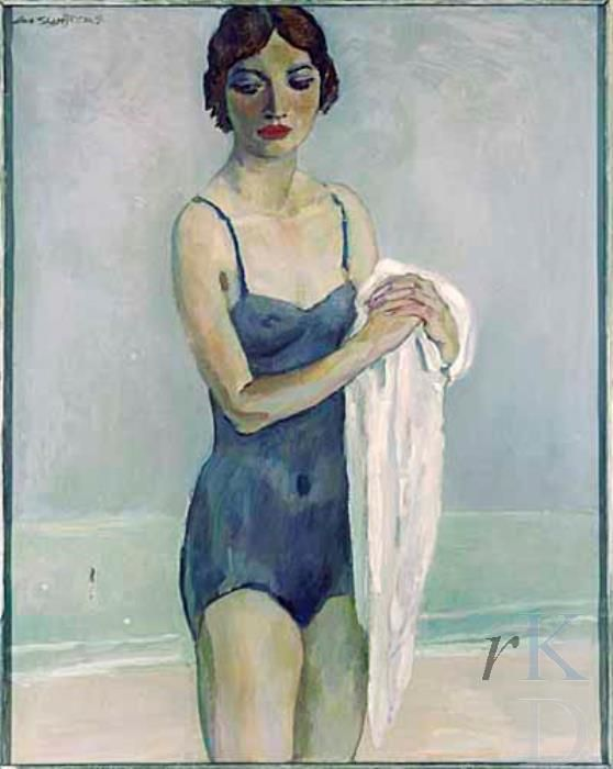 Bather 1935 by Jan Sluijters (Dutch, 1881-1957)