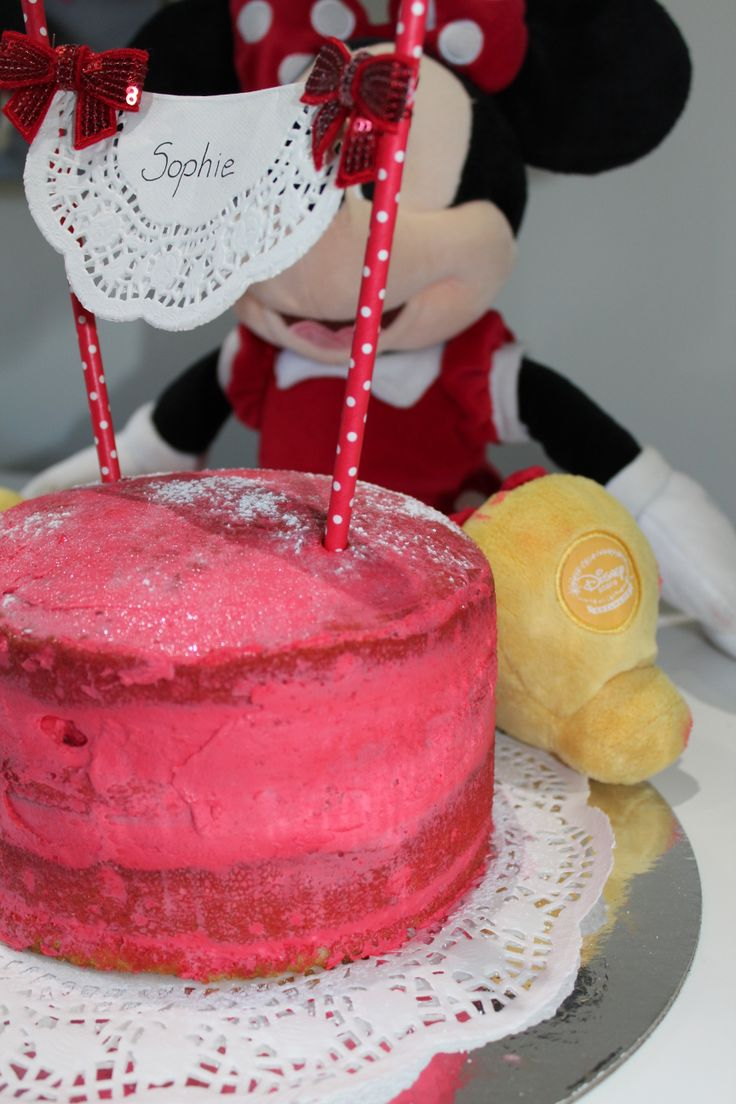 Another Black forest red version for a Minnie mouse party