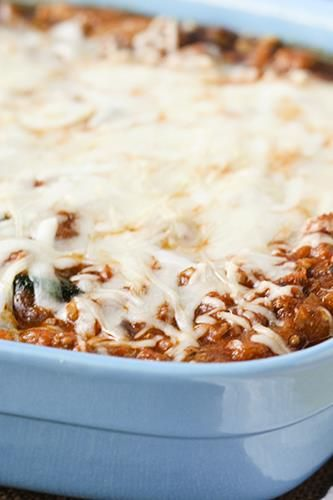 Spaghetti Squash with Meat Sauce | Recipes: Skinny Meals | Pinterest