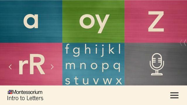 Intro to Letters, by Montessorium by Montessorium, LLC