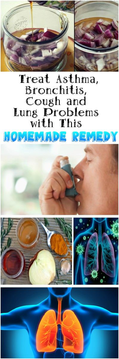 Treat Asthma, Bronchitis, Cough and Lung Problems with This Homemade Remedy