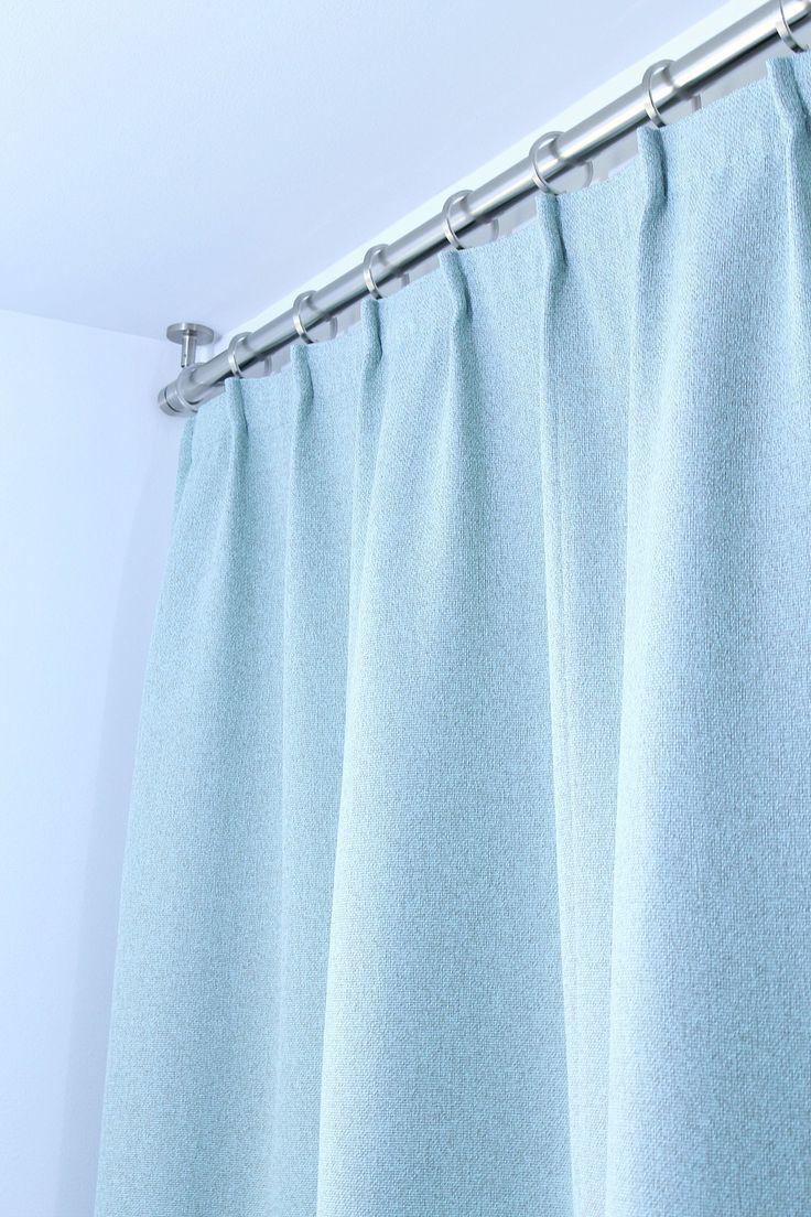 The 25+ best Shower curtain rods ideas on Pinterest | Camper hacks ...