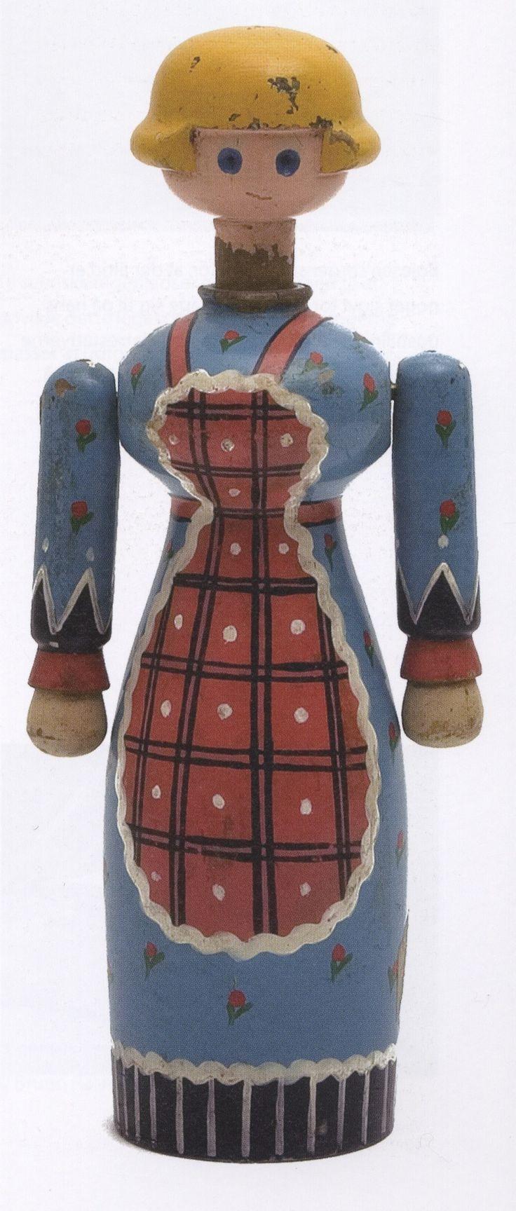 Kay Bojesen folklore figuur, hout