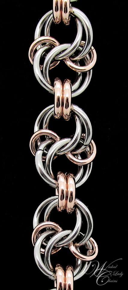 Celtic Spiral Knot Tutorial: http://www.mailleartisans.org/weaves/weavedisplay.php?key=871