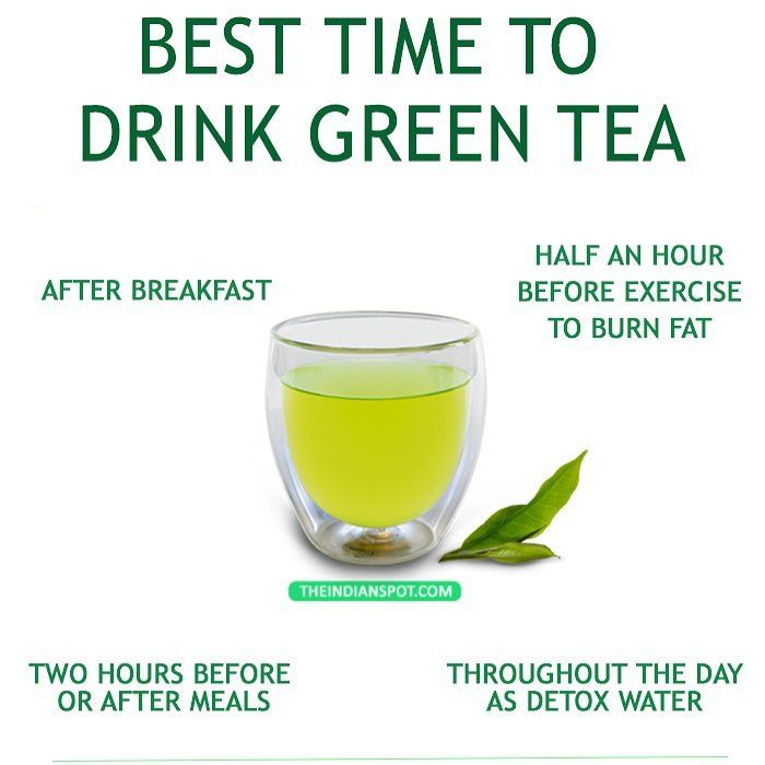 Best Time To Have Green Tea Never Have Green Tea On An Empty Stomach Not Immediately After Meals Either No Late Night Green Tea Detox Detox Tea Diet Tea Diet