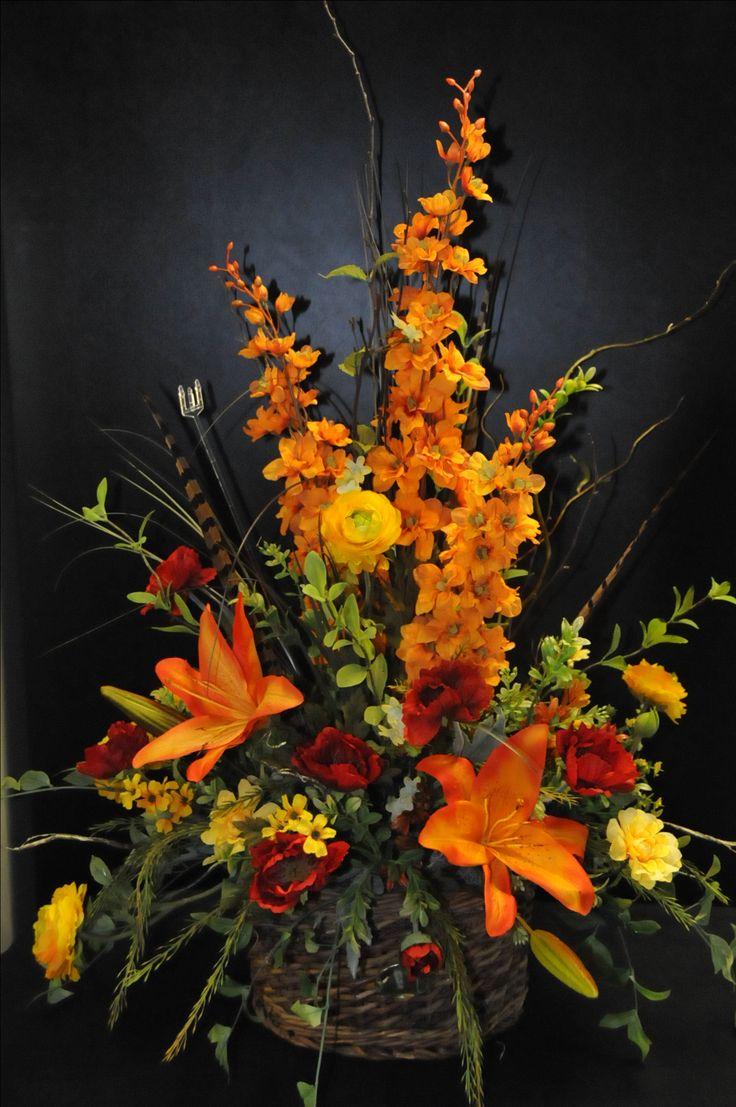 A beautiful silk arrangement for fall! Found at www.facebook.com/littlehousegifts