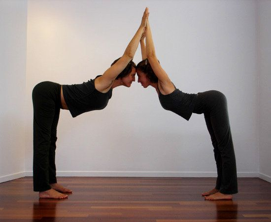 Partner Yoga Poses For Friends and Lovers | Partner yoga ...