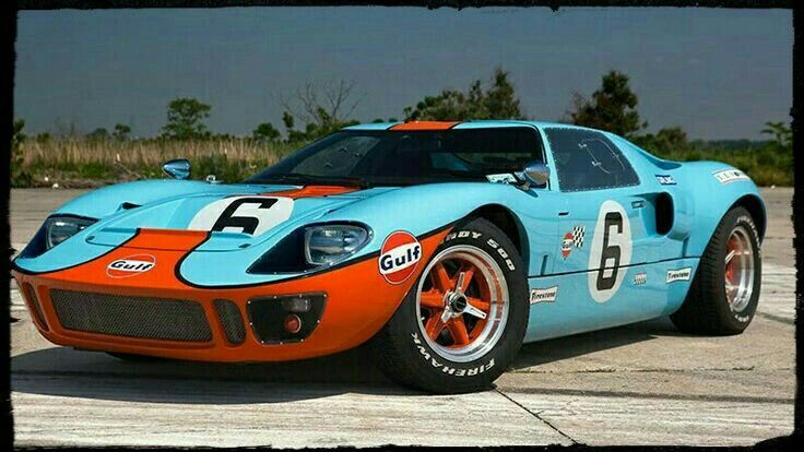 Gulf Gt40 Ford Gt Ford Gt40 Ford Classic Cars