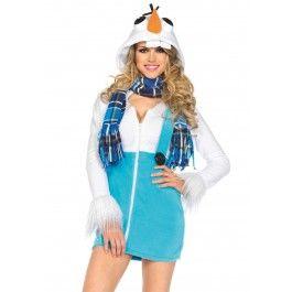 Cozy sneeuwpop Olav - Frozen kostuum Olav - PW Hoofs