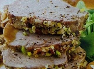 Filetto con pistacchi