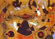 A Dew Drop Falling from a Bird's Wing Wakes Rosalie, who Has...  by Joaquin Miro