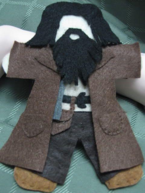 felt Hagrid