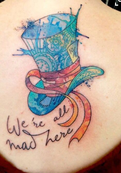 Best 25 wonderland tattoo ideas on pinterest alice and for Small alice in wonderland tattoos