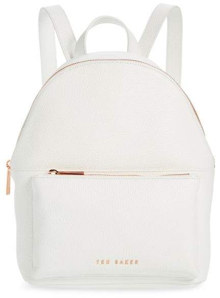 562828229 Ted Baker London Pearen Soft Grain Leather Backpack. A commuter-friendly  backpack that s scaled to be big enough for the essentials without being ...