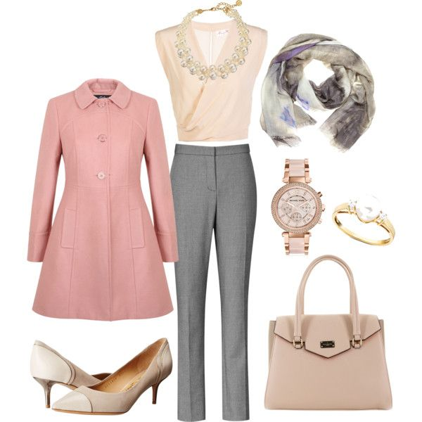 Working Lady by riramusytaka on Polyvore featuring Miss Selfridge, Reiss, Salvatore Ferragamo, Michael Kors, Yuh Okano, outfit and hijab